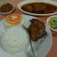 Photo taken at Rumah Makan Happy Suzy by Rujak C. on 10/28/2013