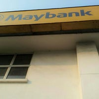 Photo taken at Maybank by Ina M. on 11/3/2014