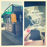 Photo taken at Pete's Hamburger Stand by Catie S. on 8/9/2014