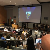 Photo taken at FIU SIPA Building by Kelle J. on 4/26/2015