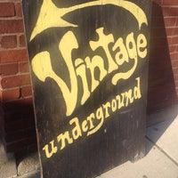 Photo taken at Vintage Underground by stacey l. on 3/29/2014