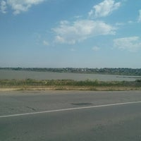 Photo taken at Большой Аджалыкский лиман by Vladimir P. on 6/7/2014
