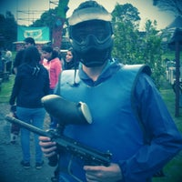 Photo taken at Rhinos Paintball by Andres S. on 11/24/2013