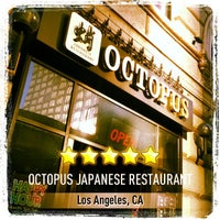 Photo taken at Octopus Japanese Restaurant by Mario J. Chavez on 3/23/2013