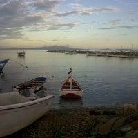 Photo taken at Playa La Galera by Javier Z. on 10/8/2013