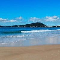 Photo taken at Praia do Mariscal by Murilo P. on 12/31/2012