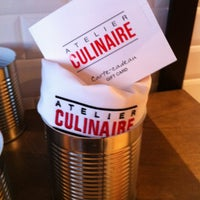 Photo taken at Atelier Culinaire by Nathalie C. on 11/19/2012