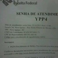Foto scattata a Receita Federal da Matheus M. il 10/25/2013