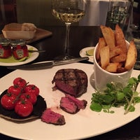 Photo taken at HADRIAN'S brasserie | Balmoral Hotel by Amber M. on 11/16/2015