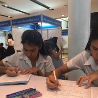 Photo taken at หอประชุมมหาวิทยาลัยหอการค้าไทย by PumPuy C. on 11/30/2016