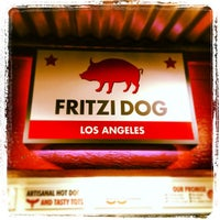 Photo taken at Fritzi Dog by Billy H. on 12/27/2012