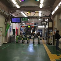 Photo taken at Okubo Station by Hiroyasu 4. on 3/17/2014