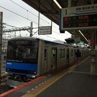 Photo taken at 東武大宮駅 1-2番線ホーム by Hiroyasu @. on 6/27/2015