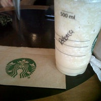 Photo taken at Starbucks by Rebe G. on 9/10/2013