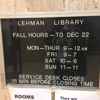 Photo taken at Lehman Social Sciences Library by Manuel B. on 9/12/2017