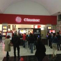 Photo taken at Cinemex by Manuel B. on 1/13/2013