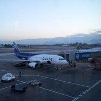 Photo taken at Comodoro Arturo Merino Benitez International Airport (SCL) by Ivan F. on 10/17/2012