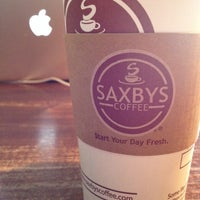 Photo taken at Saxbys Coffee by John F. on 8/24/2013