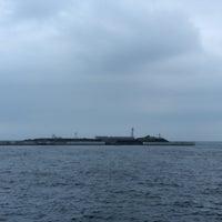 7/15/2016にすてが東京湾要塞 第二海堡跡で撮った写真