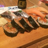 Photo taken at Okoze Sushi by Maria Z. on 4/12/2014