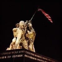 Photo taken at US Marine Corps War Memorial (Iwo Jima) by Samuel W. on 9/30/2012