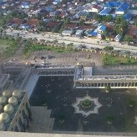 Photo taken at Masjid Islamic Centre by Adhe S. on 10/11/2013