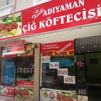 Photo taken at Tarihi Adıyaman Çiğköftecisi by Hasan c. on 6/6/2014