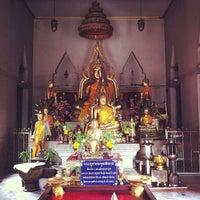 Photo taken at Temple of Phra Buddhachinnarat Mongkhol Prakan by Nitinat S. on 5/25/2013