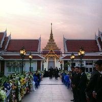 Photo taken at Wat Debsirin by Nitinat S. on 2/19/2013