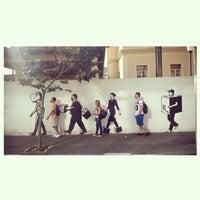 Photo taken at Cultura no Prato - Sesc Bom Retiro by Kelvin K. on 9/8/2014