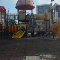 Photo taken at Centro Recreativo Playa Norte by Tania A. on 11/17/2014