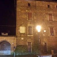 Photo taken at castello di Alagna by Andrea C. on 2/10/2014