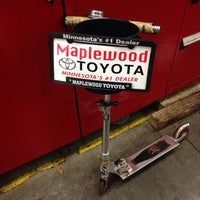 Photo taken at Maplewood Toyota by Neal G. on 10/25/2013