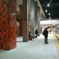 Photo taken at STM Station Rosemont by Vivi S. on 2/19/2014