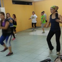 Photo taken at Futsal Centre Tamparuli by rinah . on 9/22/2014