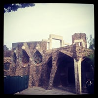 Photo taken at Cripta Gaudí by Tatiana L. on 11/10/2013