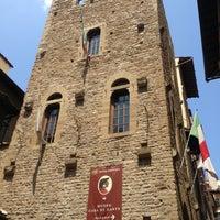 Photo taken at Museo Casa di Dante by Julian C. on 7/9/2013