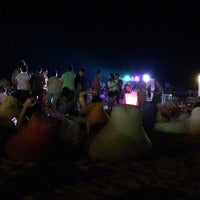 Photo taken at Kılıç Beach Club by Hüseyin Ü. on 8/3/2016
