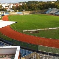 Photo taken at Omladinski stadion   OFK Beograd by Балша Т. on 10/8/2013