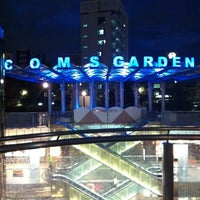 Photo taken at Coms Garden by kosuke t. on 11/26/2012