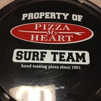Photo taken at Pizza My Heart by Rachel W. on 2/21/2013
