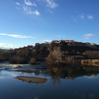 Photo taken at Puente Romano De Simancas by Ismael B. on 1/21/2015