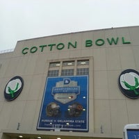 Photo taken at Cotton Bowl by Kevin H. on 1/1/2013