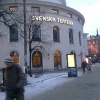 Photo taken at Svenska Teatern by Ahmet U. on 1/27/2014