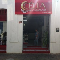 Photo taken at Célia Cosméticos by George V. on 6/13/2014