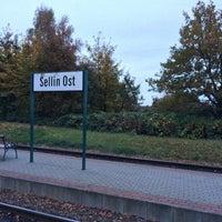 Photo taken at Bahnhof Sellin Ost by Hannes J. on 10/25/2013