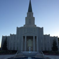 Photo taken at Houston Texas Temple by Mitch H. on 3/29/2015