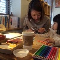 Photo taken at 커피비상구 by Hanna L. on 2/9/2014