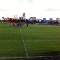 Photo taken at Canchas UPAEP by Ángel C. on 10/11/2013