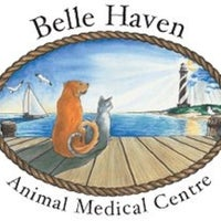 Photo taken at Belle Haven Animal Medical Centre by Danielle S. on 10/29/2013